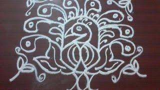 Video 107) - 9x10 dots free hand Rangoli, muggu, kolam, telugu muggulu, sankranthi muggu, festival rangoli download MP3, 3GP, MP4, WEBM, AVI, FLV Juli 2018