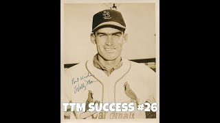 TTM Success Episode 26: Wally Moon (Unibrow player for the Los Angeles Dodgers)