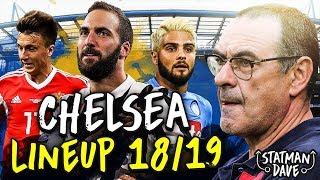 How Sarri Could Set Up Chelsea Next Season | Starting XI, Formation & Tactics