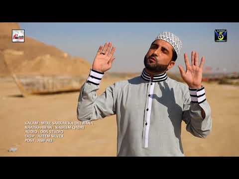 MERE SARKAR KA DEEWANA MUHAMMAD NADEEM QADRI - OFFICIAL HD VIDEO - HI-TECH ISLAMIC - BEAUTIFUL NAAT