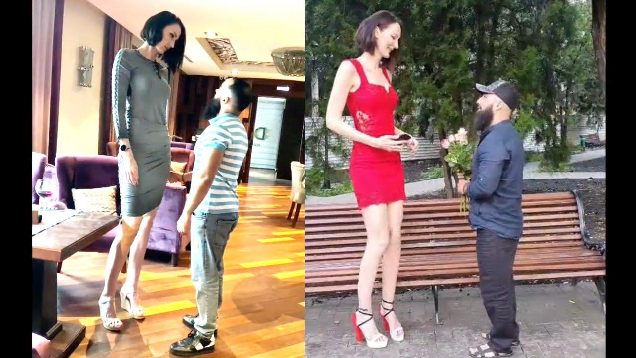 short guy dating a 6 2 girl
