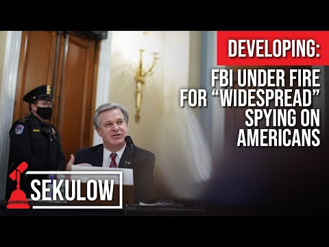 "Developing: FBI Under Fire for ""Widespread"" Spying on Americans"