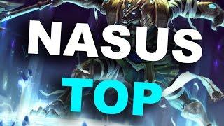 HOLY DAMAGE, NASUS IS SO BROKEN! Nasus Top Full Gameplay - League of Legends - Season 6