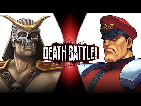 Shao Kahn VS M. Bison (Mortal Kombat VS Street Fighter)   DEATH BATTLE!