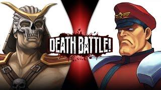 Download Shao Kahn VS M. Bison (Mortal Kombat VS Street Fighter) | DEATH BATTLE! Mp3 and Videos