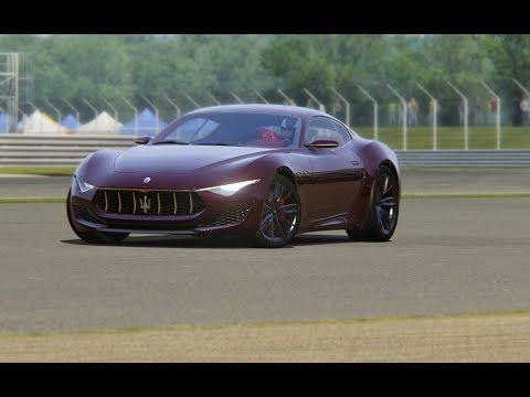 Maserati Alfieri Top Geat at Silverstone