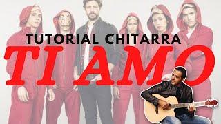 Ti Amo - Umberto Tozzi - Chitarra - Facile