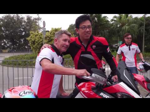 Ducati Owners Club Hong Kong -Charity Ride with Troy Bayliss 2017-4-09