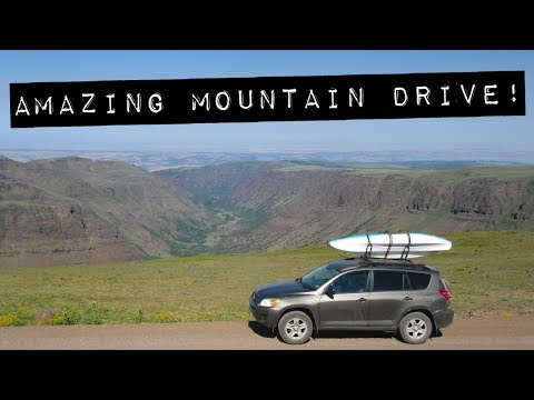 One of America's Greatest Drives! – SUV Camping/Vandwelling in Oregon