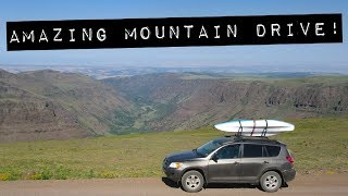 One of America's Greatest Drives! – SUV Camping/Vandwelling in Oregon thumbnail