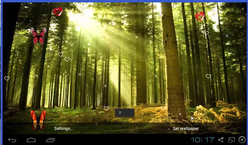 Forest Live Wallpaper Free