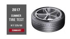 Big Summer Tyre Test – Summary | 225/50 R17