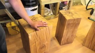 Solid Oak Tables From Tarzantables.co.uk