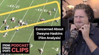 Dwayne Haskins vs Giants (Film Analysis)