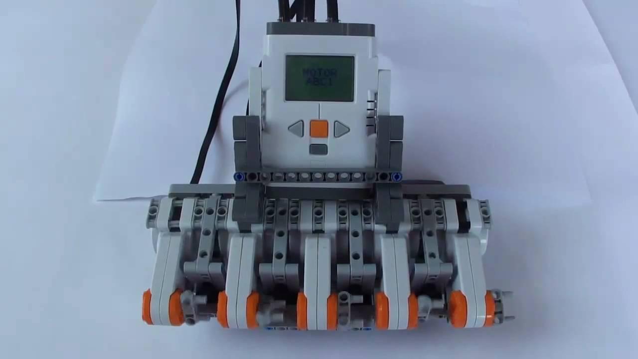 Lego Nxt Motor Multiplexer Youtube