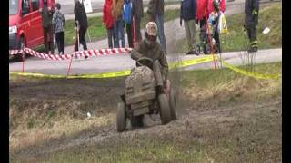 Lawn Mower Racing Finland spring Tournament 2010 pt1