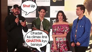 Dhadak Cast STUPID Reply On Making Such A BAD Climax/Ending Of The Film-Jhanvi,Ishan,Karan,Shahshank