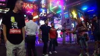 Таиланд Паттайя GO GO бары Женя ходит на улицу разврата как на войну