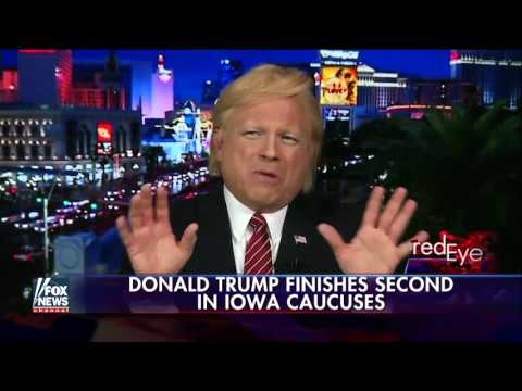 Donald Trump impersonator John Di Domenico feeling the love on