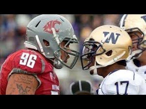 Apple Cup Rivalry / Washington Huskies - Washington State Cougars