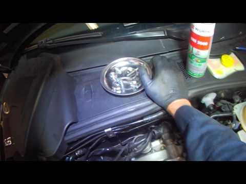 VW B5: 1.8T Passat rear coolant flange removal