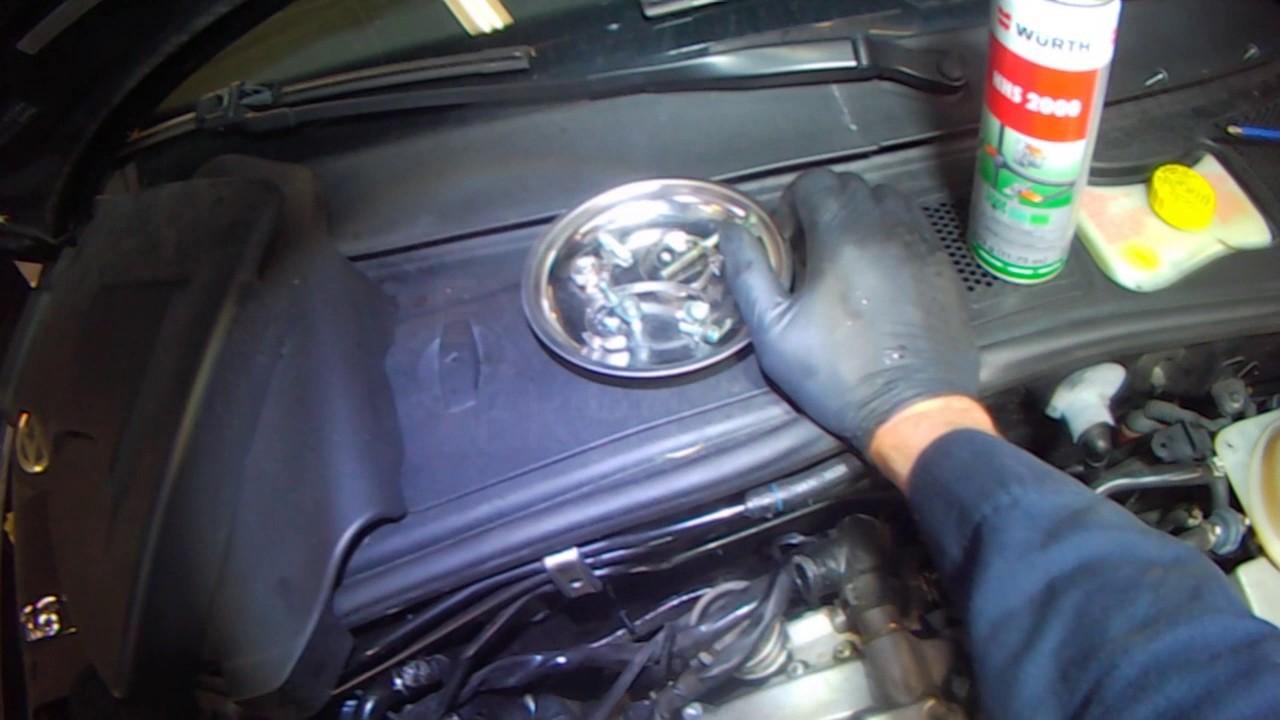Vw B5 1 8t Passat Rear Coolant Flange Removal