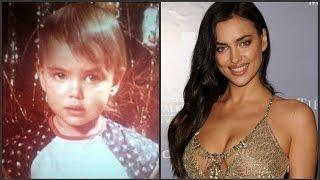 Ирина Шейк в детстве и сейчас. Как изменилась Ирина Шейк?
