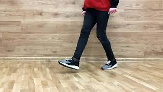 How To Shuffle (Dance Move Tutorial) Обучение Шаффл | Yura Prokopik