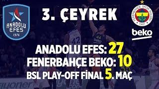 Gambar cover Fenerbahçe Beko - Anadolu Efes Final Serisi Beşinci Maç 3. Çeyrek (Tüm Basketler)