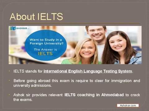 Best IELTS Coaching in Ahmedabad from AshokSir.com