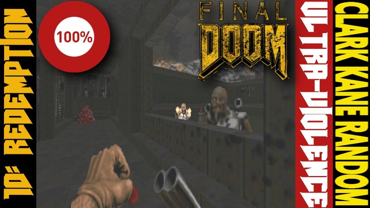 DOOM, TNT, MAP10, 100% KILLS, SECRET & ITEMS │ Gameplay by Clark Kane