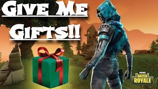 Fortnite Gifting is out!!! Gift Me EVERYTHING!!!!