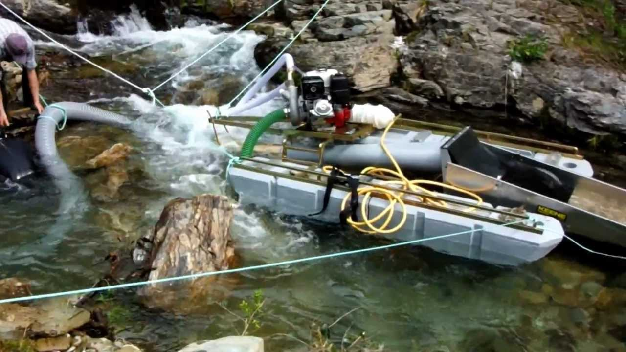 new 6 inch keene gold dredge in south island new zealand #1