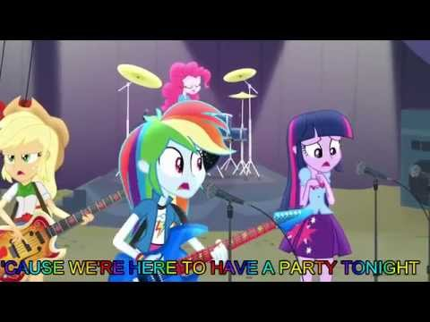 Shake Your Tail [With Lyrics] - My Little Pony Equestria Girls Rainbow Rocks Song