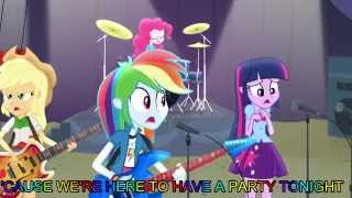 Shake Your Tail [With Lyrics] - My Little Pony Equestria Girls Rainbow Rocks Song