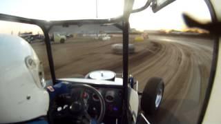Vintage Super Modified Wichita, KS Heat Race GO PRO