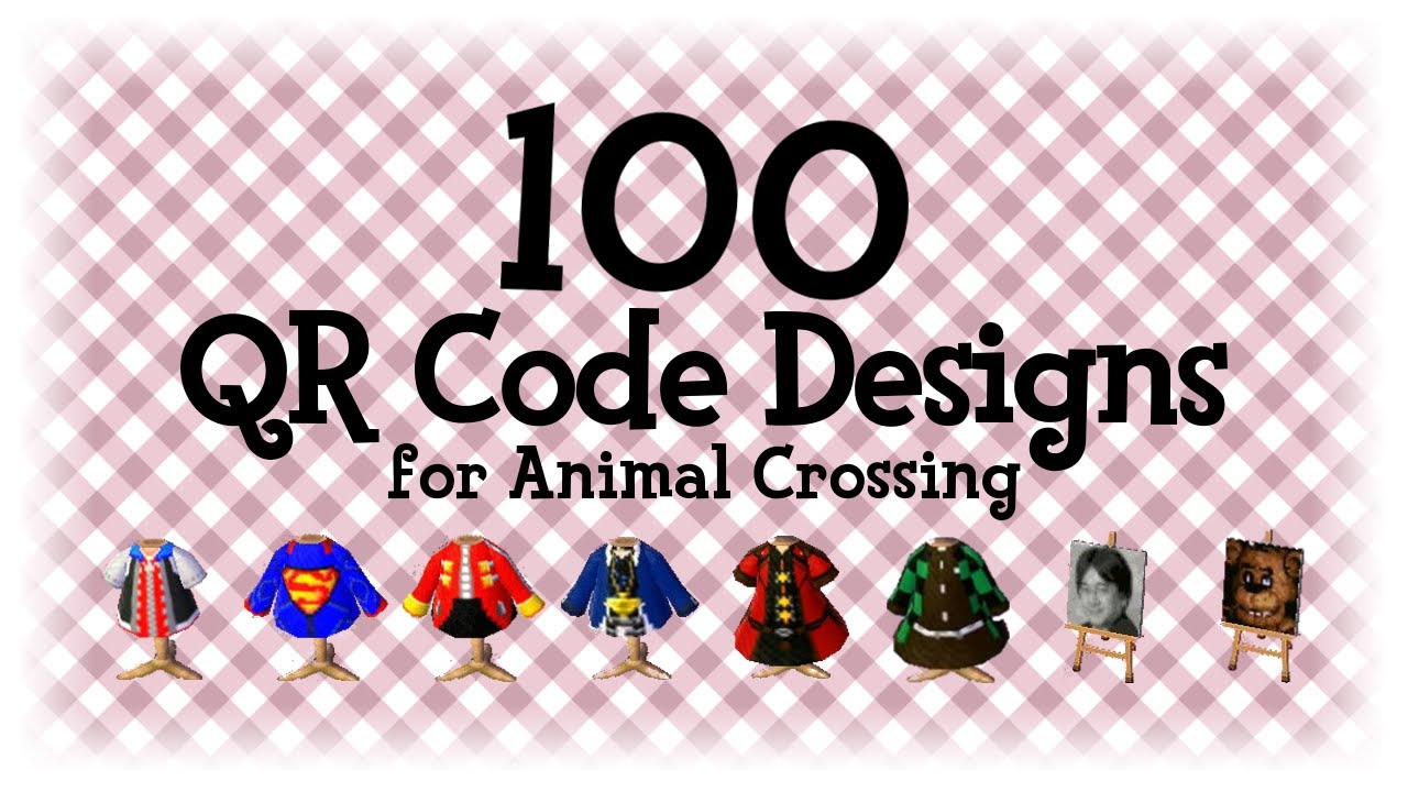 animal crossing qr codes clothes new horizons