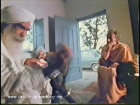 Sant Kirpal Singh Interview Manav Kendra pt2