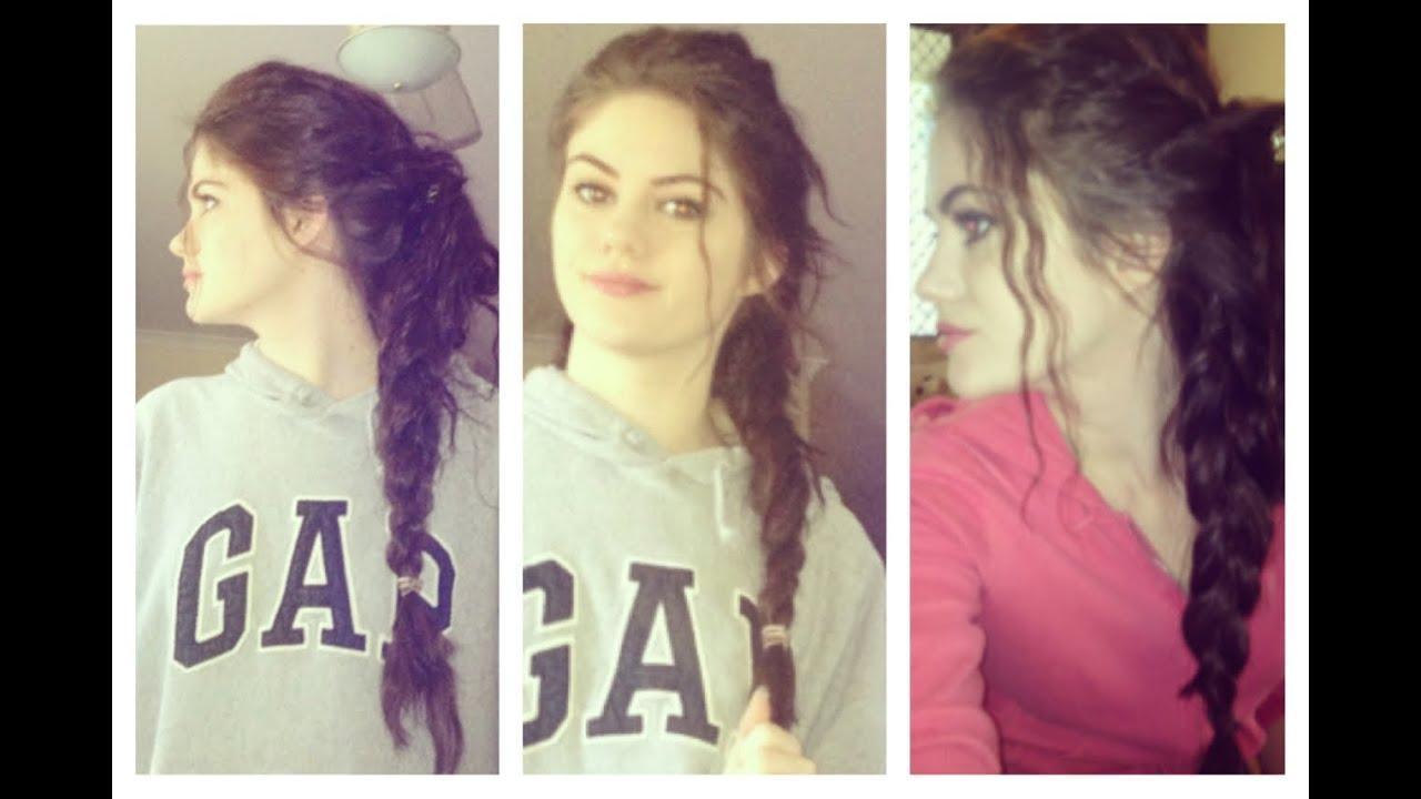Allison argent hair braid