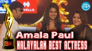 SIIMA 2014 - Malayalam Best Actress - Amala Paul | Oru Indian Pranayakatha Movie