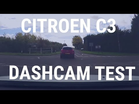 Citroen C3 Dashcam Test