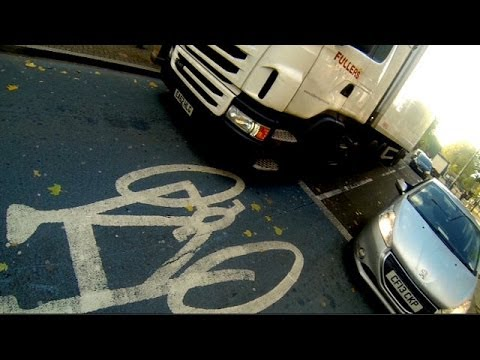A cyclist's view of London's notorious Cycle Superhighway 2