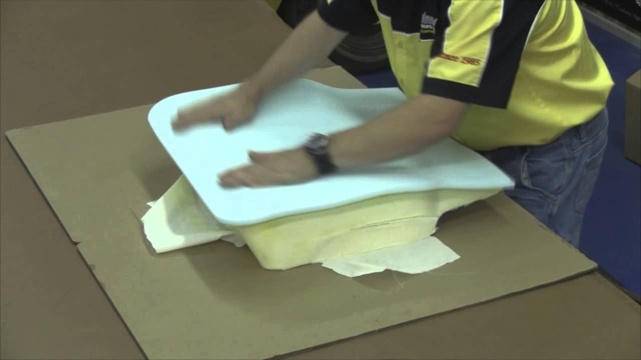 1969 Dodge Charger Front Bucket Seat Cover Installation