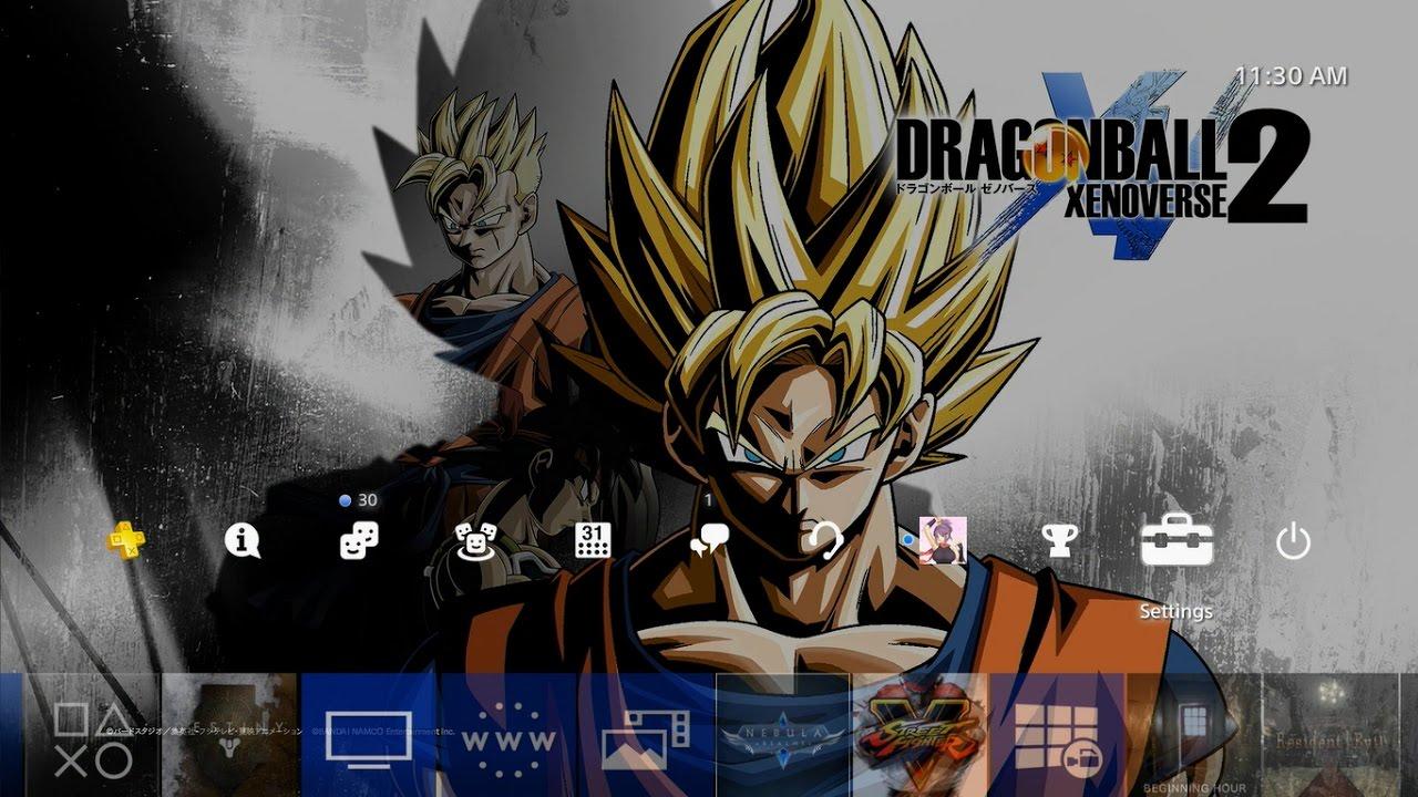 Dragon Ball Xenoverse 2 (PS Plus) Theme PS4