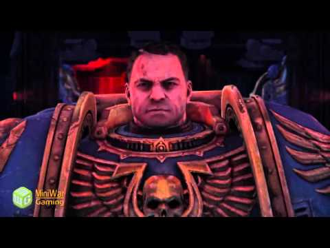 Lets Play Warhammer 40k Space Marine...