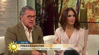 """""""Jag är nöjd för en gång skull"""" - Nyhetsmorgon (TV4)"""