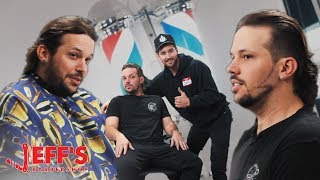 GIVING FRIEND THE WORST HAIRCUT EVER | Jeff's Barbershop
