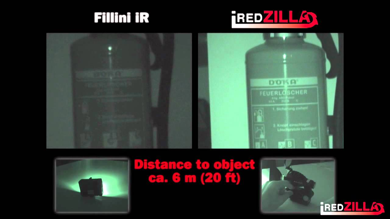 iredzilla focusable infrared led light youtube. Black Bedroom Furniture Sets. Home Design Ideas