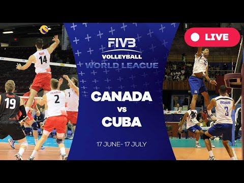 Canada v Cuba - Group 2: 2016 FIVB Volleyball World League
