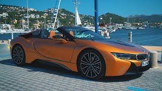 Сумасшедшая новая BMW i8 Roadster.